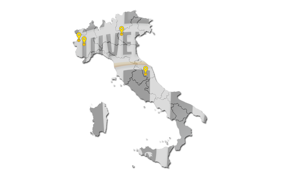 Juventus Turin Soccer Camps Locations And Details Soccer Camps - Juventus italy map