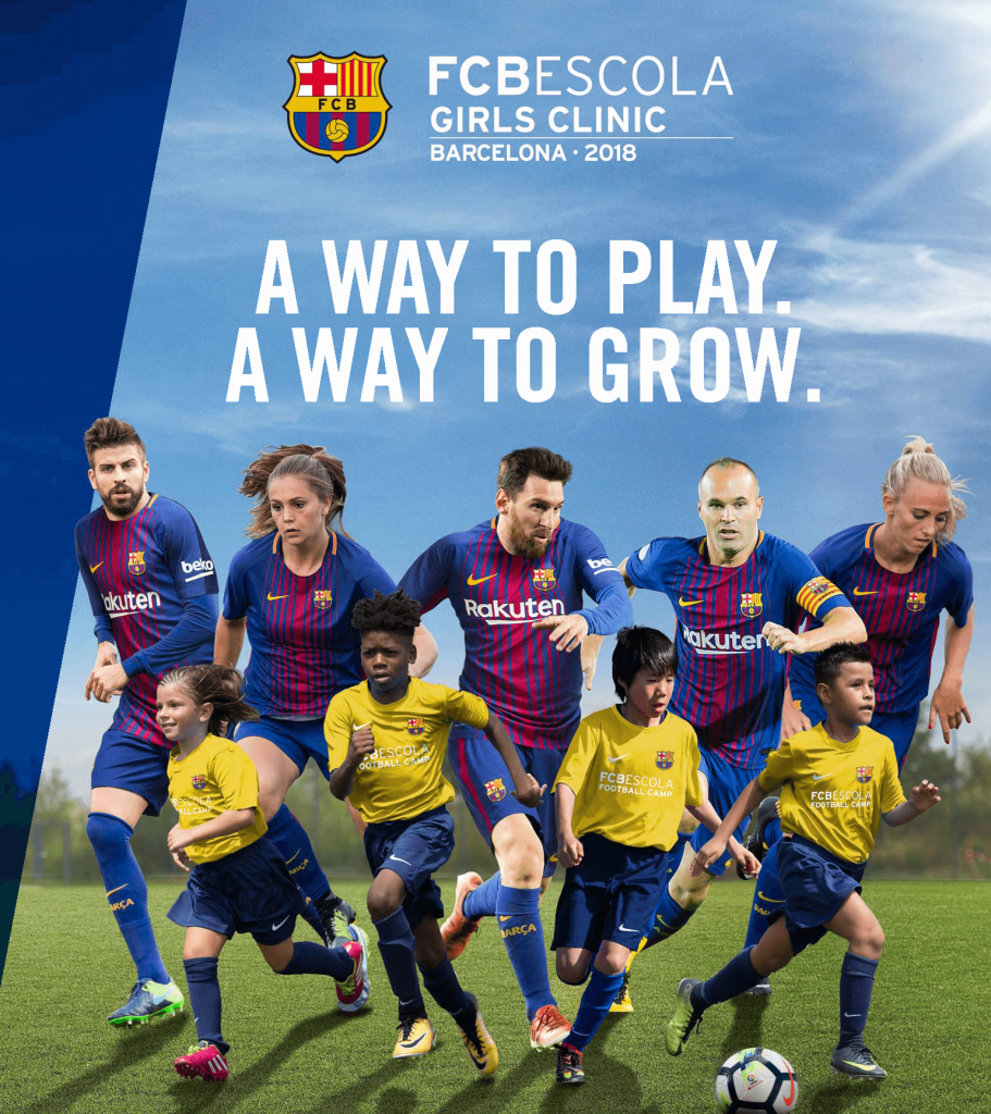 2018 fc barcelona girls soccer camps and football ftbol camp fc barcelona girls soccer camps stopboris Choice Image