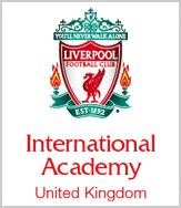 Liverpool FC Summer Soccer Camps UK near Liverpool, England